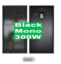 Cheap price solar system using High efficiency 12v 24v 150w 180w 200w 250w 310w black mono solar panel module