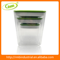 hot sale airtight and stackable food canister storage
