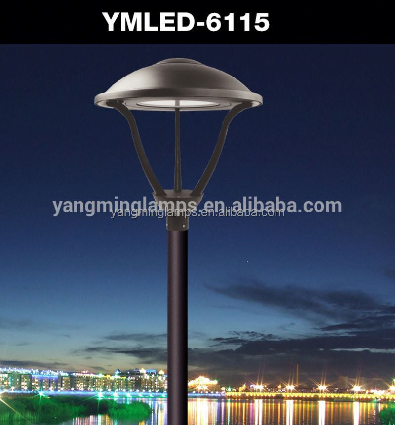 anodized aluminum light pole high power led street light garden led lamp ip65