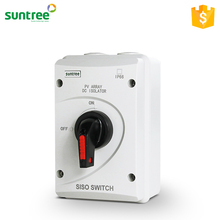 SISO-40 Solar PV DC 1000V Socket with Isolator Switch Electrical Battery Disconnector