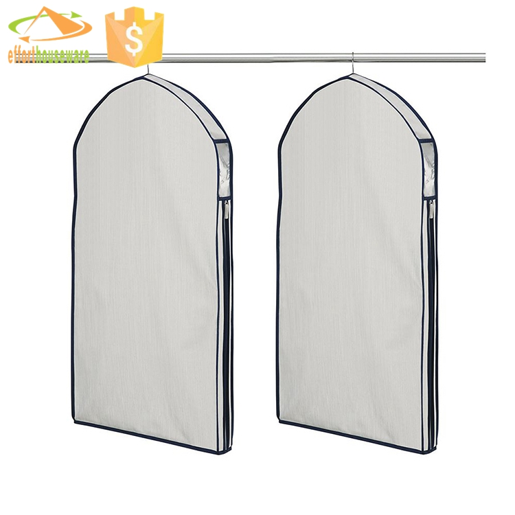 Best Selling Zip Lock Custom cotton garment bags