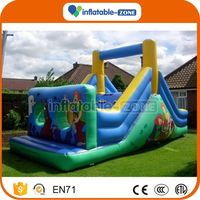 Cheap wholesale inflatable water obstacle course inflatable obstacle course games