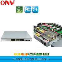 24 Port Ethernet Optic Fiber Switch