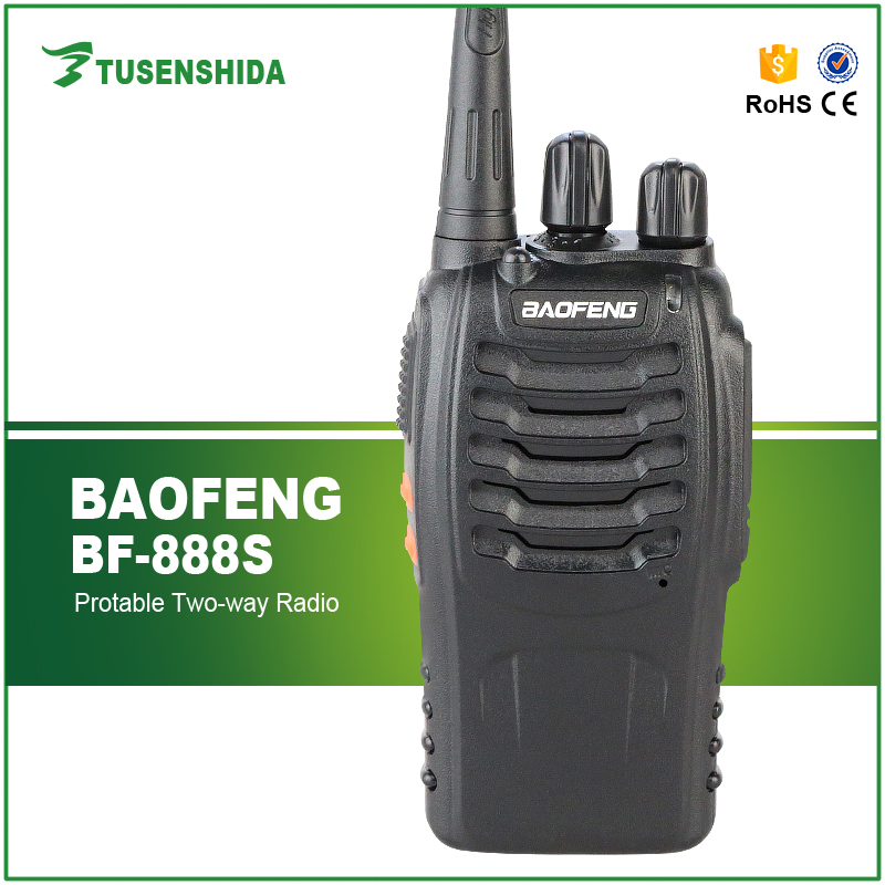 Baofeng BF-888s FM Two Way Radio 16CH Amateur Walkie Talkie High IIIumination Flashlight Transceiver