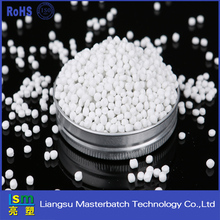 white masterbatch /raw material used make plastic