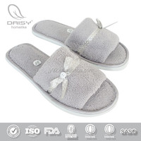 Wholesale Good Quality Comfortable Hotel slipper/Personalized Hotel Slippers/airline slipper indoor slippers open toe