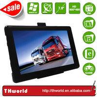 HOT SALE 7 INCH TRUCK GPS WITH 8GB MEMORY TRUCK GPS MAP ONLY $35.50