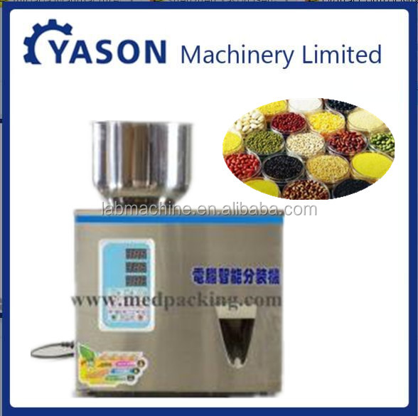 2-100g Particle Filling Machine for Tea Bean Seed Particle