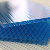 twin-wall polycarbonate sheet for covering and vaults of social bulidings 3mm