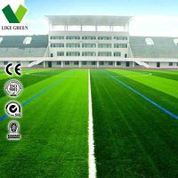 Ornamental Design Football Court Artificial Grass