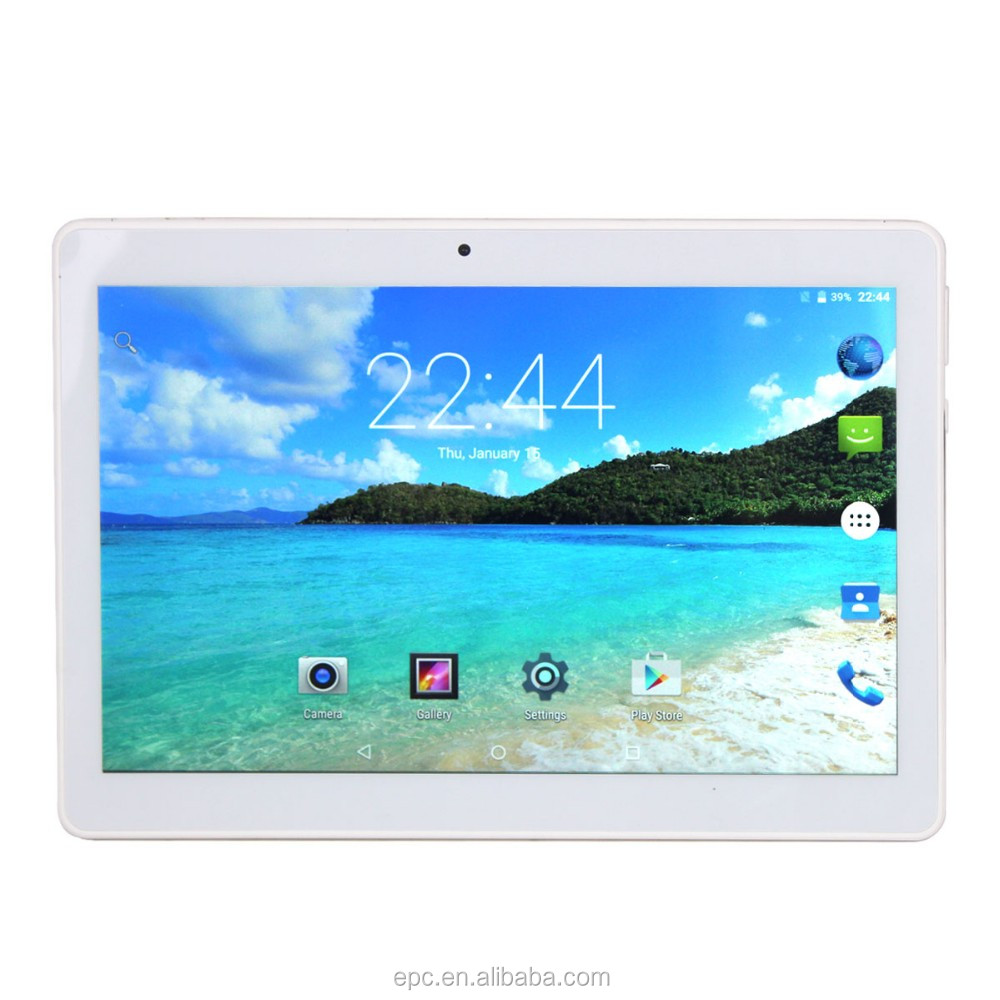 2017 Newest 10 inch 4G Lte Tablet PC Octa Core 2G/32G Android 6.0 IPS GPS 2.0MP WCDMA 3G Tablet PC 10 inch