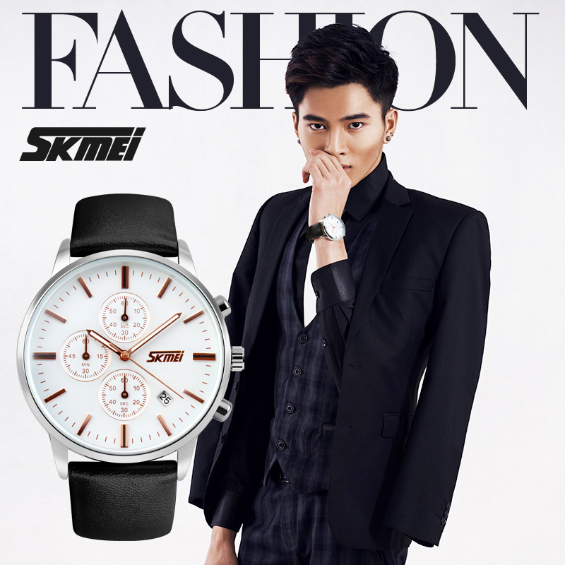 Top hot selling unisex slim watch/ charming and fashion wrist watch for men and women