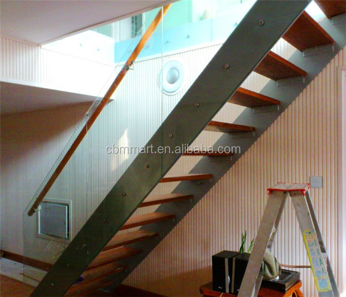one stop service of wood steel stairs st004
