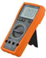 Low price mini LCD display digital multimeter with temperature testing function