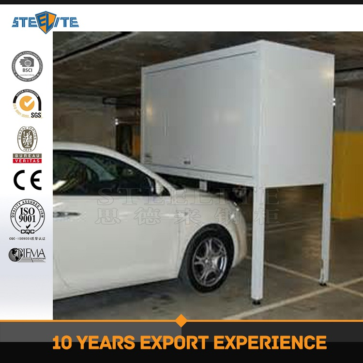 Single Door Garage Metal Cabinet Garage Box Over Car