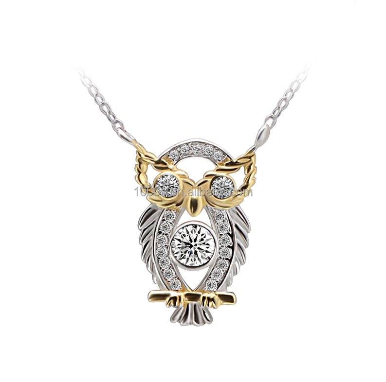 2016 hot sale new product owl necklace , fashion jewelry