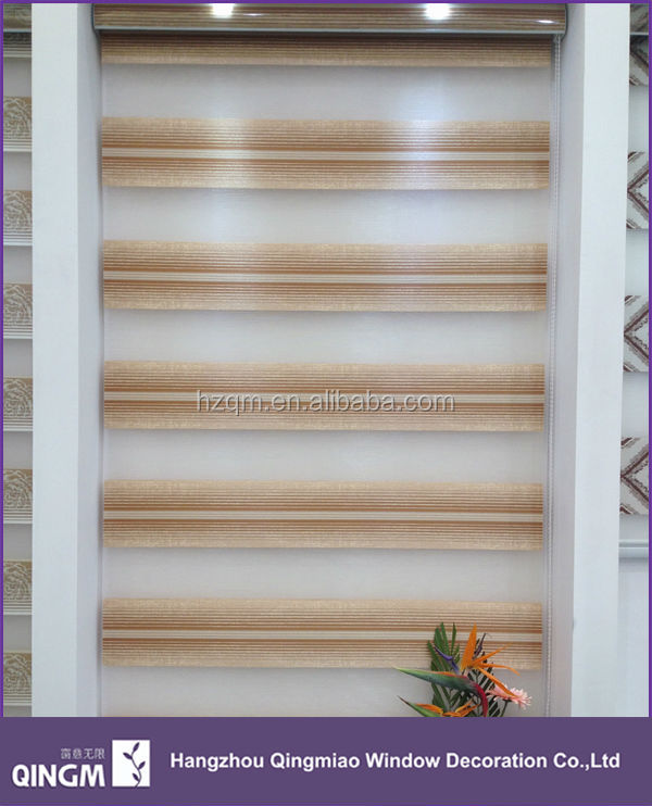 Home design 2014 new products double layer window curtain zebra blinds roller blind alibaba website