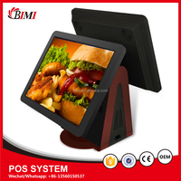 Bimi hot sales touch screen cash register pos machine for supermarket strong compatibility pos system