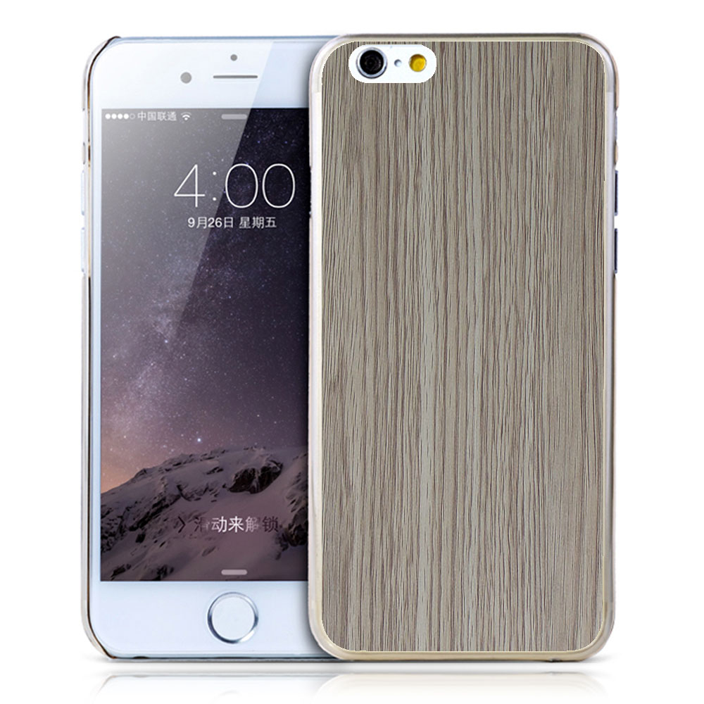 2016 for iPhone 6 3D printing sublimation wood cell phone cover TPU cheap wholesale mobile phone case