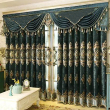 Classic Style Dubai Window Curtain for Living Room
