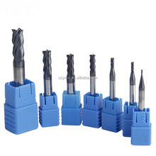 HRC 50 55 60 68 Tungsten Solid Carbide End Mill High Quality Milling Cutters For Steel And Hardened Steel
