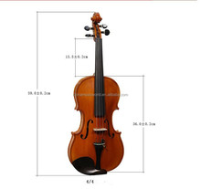 High-Quality, Hand-Made, Handwork Copal Paint Violin (AVL-060)