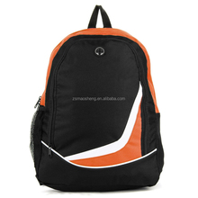 Orange Unisex Canvas Casual Backpack Travel Hiking Laptop Shoulder School Bag