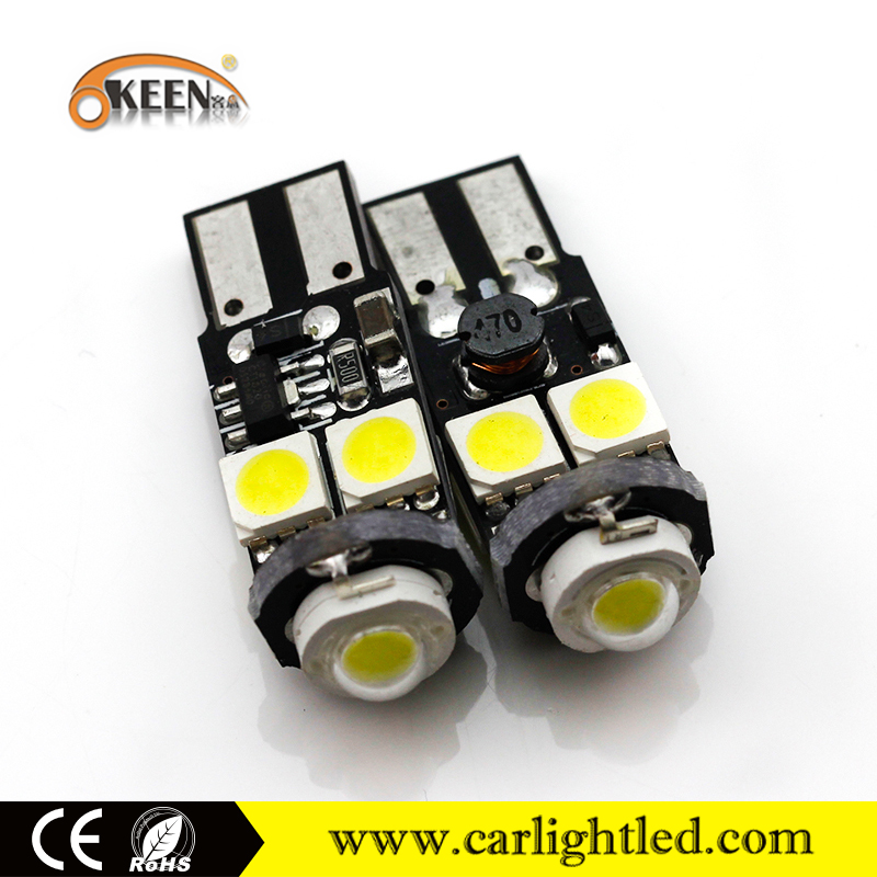 Motorcycle LED Light T10 Canbus 5050 SMD Car Parking Reverse Light Lamp