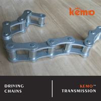 Zinc plated CA550 CA555 agricultural transmission chain type transmission roller chain