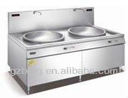 Induction cooker double stove