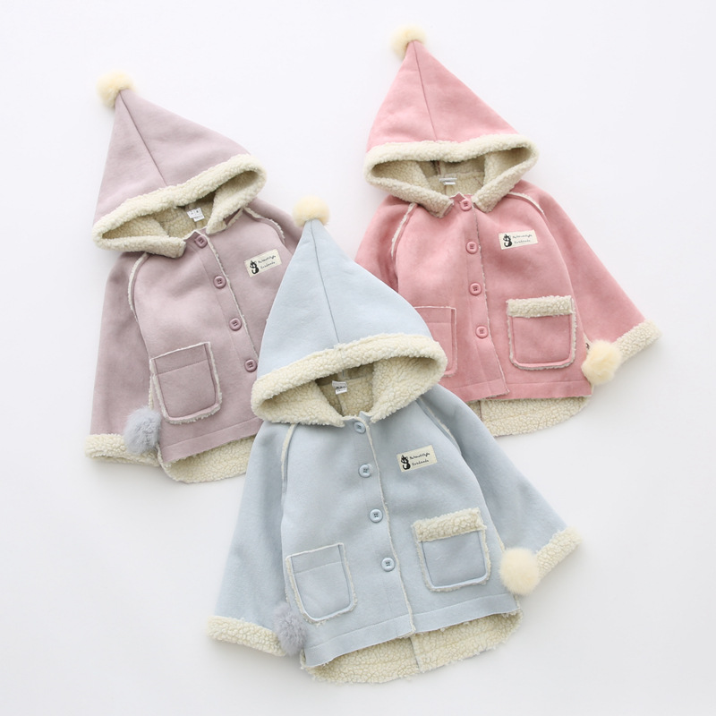 2017 krean fall winter jacket girls kids baby jackets girls children baby christmas babygrow outfits clothes occasion party wear