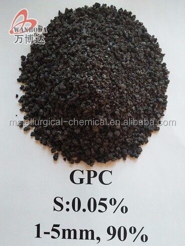 High quality Graphitized Petroleum Coke/GPC/Calcined Petroleum Coke /CPC--Wanboda Brand