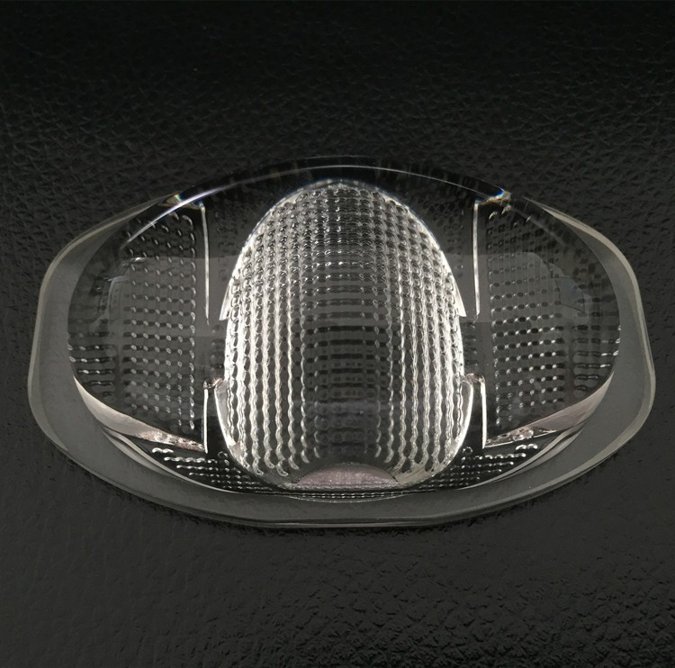 102mm LED Street Light Lens, High illumination glass lens , optical lens