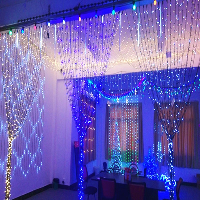 Curtain lights for weddings