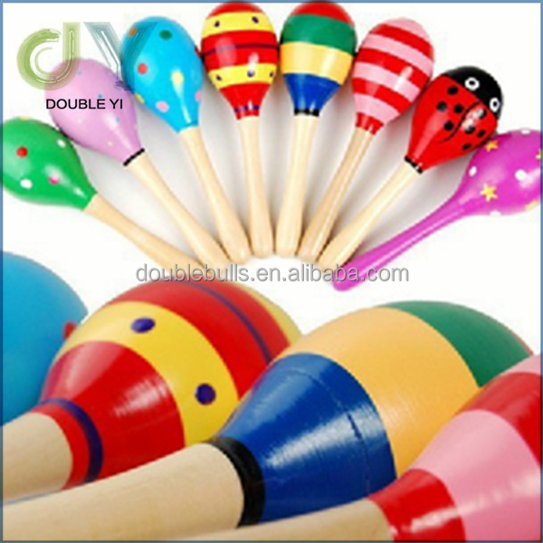 Customize sand hammer mini bulk custom maracas educational musical instrument