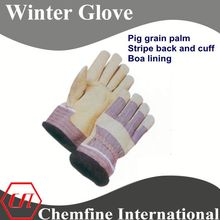 leather winter hunting shooting glove