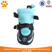 JML Winter Waterproof PU Leather Dog Snow Boots to Protect Paws