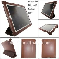 Fashion Tablet Sleeve PU Stand Leather Case for iPad