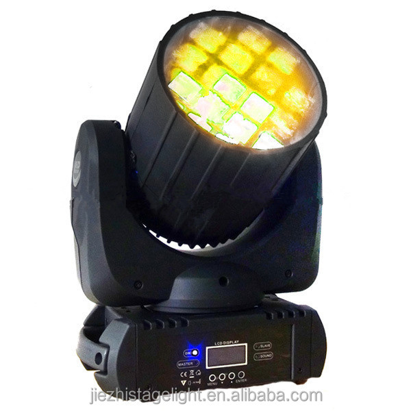 12 pcs 10W RGBW 4in1 Moving head light cheap Disco Party Stage Studio Equipment lights