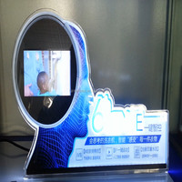 Alibaba New Products Top Quality LED Message Board Transparent Acrylic Display Stand for Mobile Phone