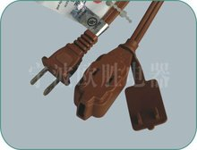 American Type 2 pin Indoor Use Extension Cords