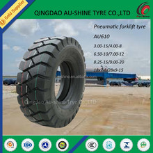 solid forklift tire 21x7x15, 600-9 28x9x15 forklift solid pneumatic tires (various size)