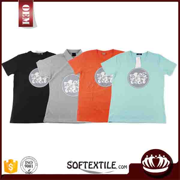 china wholesale cheap creatively designed super soft t-shirt korea design