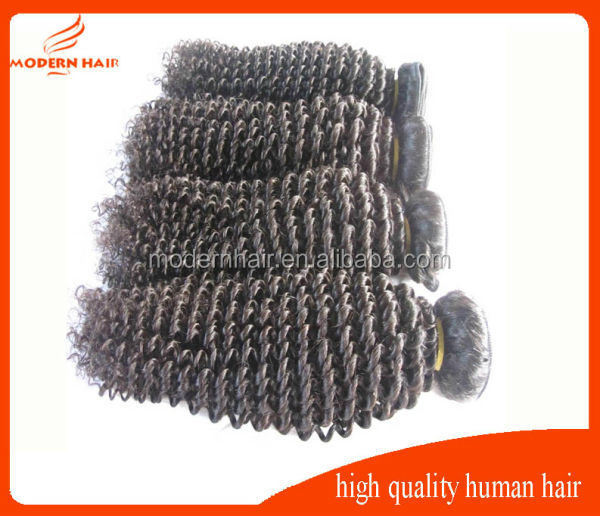 Factory high quality 30 inch micro braid remy human hair weft brazilian hair hand weft