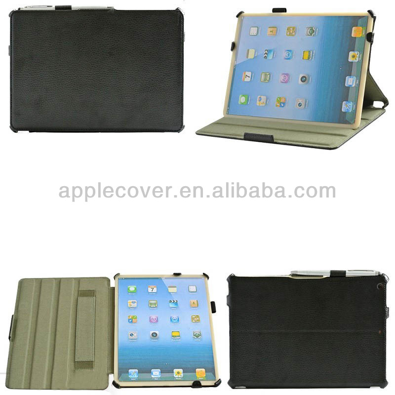 Flip Cover for iPad Air with Pen Slot and Handle