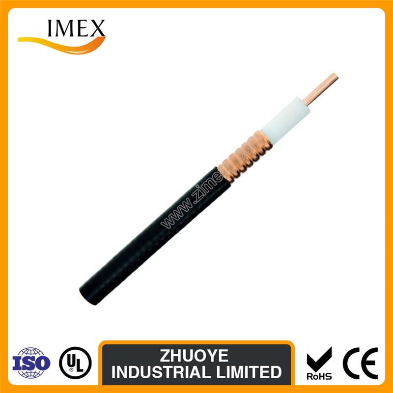 RF Coaxial cable 1/2 1/4 7/8 50ohm super flexible feeder cable with lower price in China