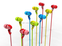 2016 best selling trending colorful wired earphone for phone/computer/MP3/MP4