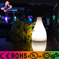 Modern color changing cordless waterproof vase lamp glowing led table light