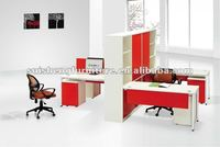 2012 hot -sale new design 4people office partitions desk/table/workstation