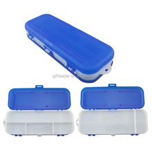 Plastic Folded Pencil Case with Various Compartment
